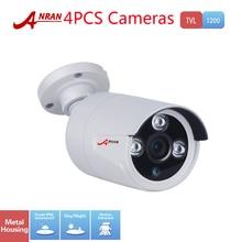 4PCS CCTV HD 1200TVL SONY CMOS Array 3 IR Outdoor Night Vision Security Surveillance Wide Angle Waterproof Camera With IR-Cut