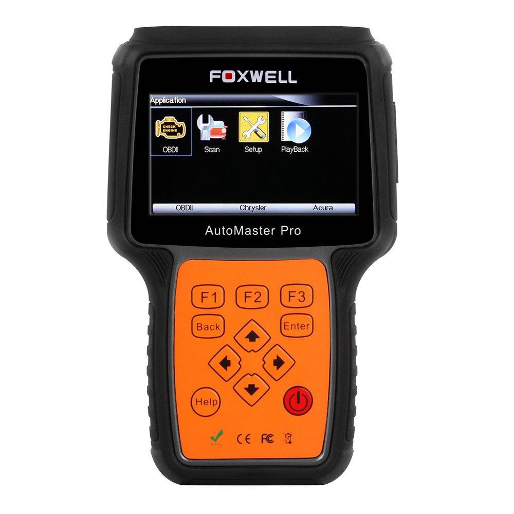 Цена за Лучшее качество Foxwell NT624 automaster про все делает все системы сканер автомобильный диагностический Инструменты лучше, чем Crp129