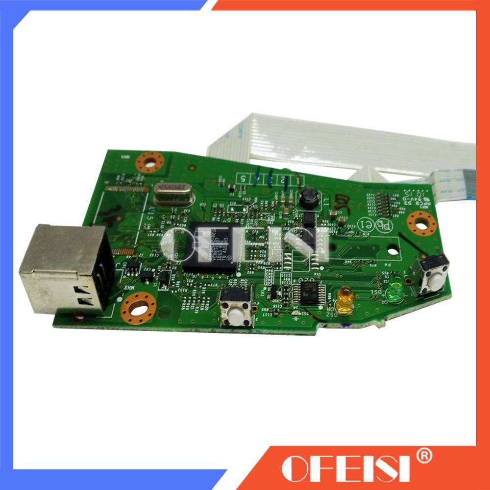 Оригинальная плата для форматора, материнская плата, материнская плата, CE670 60001 для hp P1102W 1102W 1102 2, запчасти для плоских принтеров