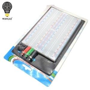 Image 2 - WAVGAT SYB 1660 הלחמה טיפוס Protoboard 4 אפיק המבחן Circuit Board עניבת נקודות 1660 ZY 204