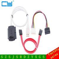 US Plug 3in1 USB 2 0 To IDE SATA S ATA ATA 2 5 3 5