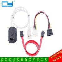 US Wtyczka 3w1 USB 2.0 Na IDE SATA ATA 2.5 3.5 Dysk S-ATA napęd HD HDD Converter Adapter Cable dla Windows 2000 XP Vista WIN7 WIN8
