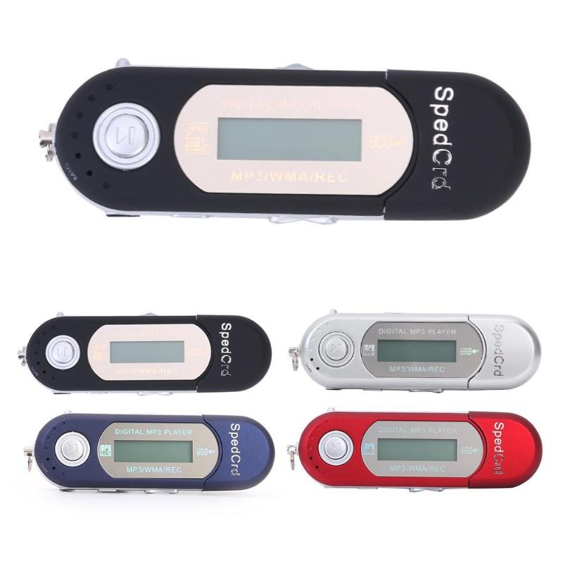 Portable Mini USB Flash MP3 Music Player LCD Screen Built-in 4GB Memeroy