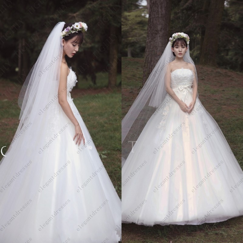 New Famous Design Japan And Korean Style Ball Gown Wedding Dress ...
