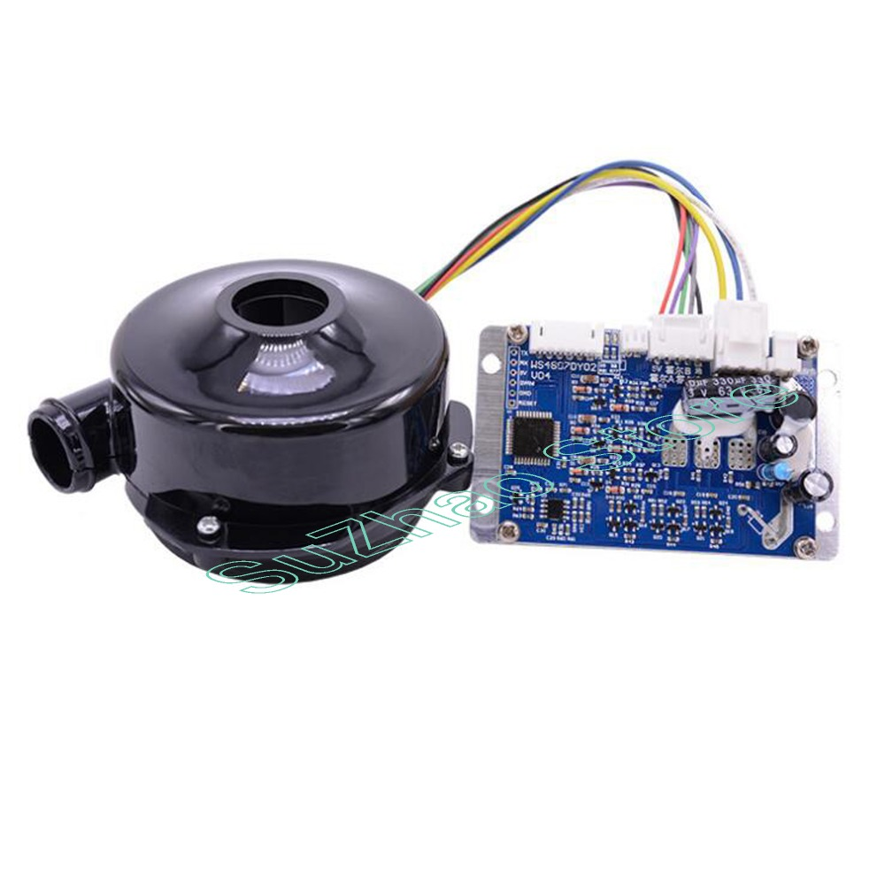 WS9250 DC 24V Micro DC brushless centrifugal three-phase medium pressure blower industry inverter blower Applied to air purifie