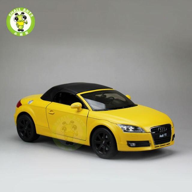 1 18 Scale Audi Tt Roadster Convertible Car Model Welly 18016h