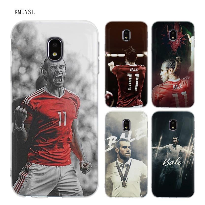 KMUYSL Gareth Bale GB11 TPU Transparent Soft Case Cover for Samsung Galaxy J5 J7 J3 2016 2017