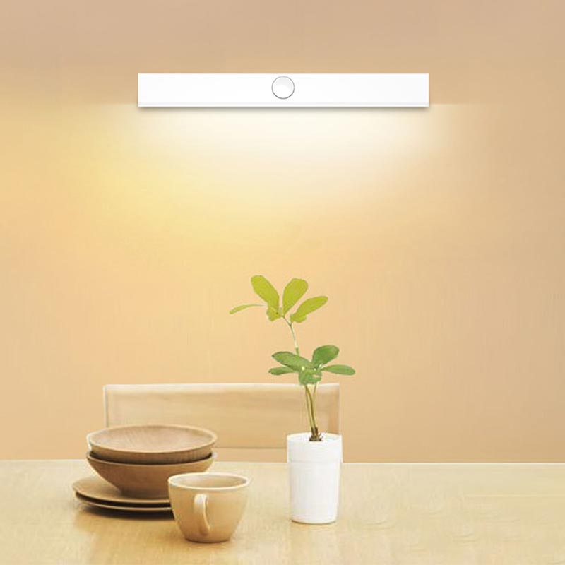 Rechargeable LED Mirror Wall Lamp Light  Modern Cabinet Light Bathroom Vanity White Front Mirror Toilet Wall Lamp Fixture