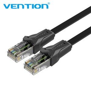 Image 1 - Cabo de remendo liso 1 m/5 m/10 m/20 m do cabo rj45 do lan da rede do gato 6 dos ethernet da vention cat6 para ethernet do cabo do portátil do roteador de pc