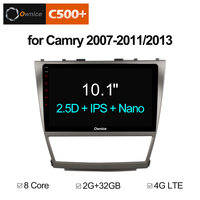 Ownice C500 + G10 10,1 ''Android 8,1 Octa Core радио автомобиль gps dvd плеер для Toyota Camry 2007 2008 2009 2010 2011 2013 радио