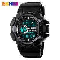 Relogio Masculino Men Military Wristwatch Skmei Luxury Brand Fashion Digital Analog S Shock Watch Quartz Sports