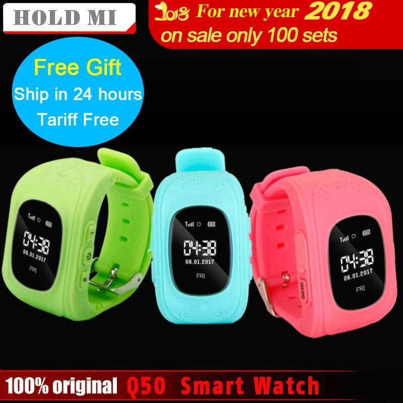 Tenere Mi Anti Perso Q50 OLED Child GPS Tracker SOS Intelligente Posizionamento di monitoraggio Scherza Il Telefono GPS Bambino Orologio Compatibile IOS e Android