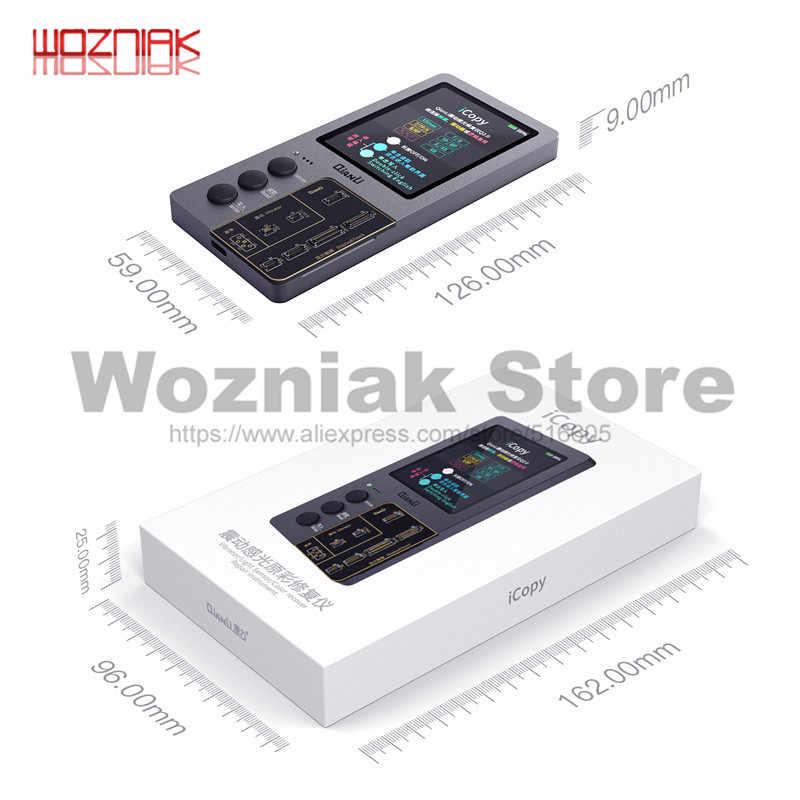 Qianli Icopy Plus LCD Màn Hình Photometer Cho iPhone 7 8 8P X XR XS Max Cảm Quang Màu Sắc Ban Đầu Pin Sửa Chữa lập Trình Viên