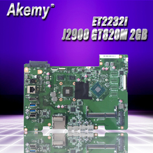 For ASUS all-in-one ET2232I ET2232 ET223 Mianboard  motherboard SR1US J2900 N15V-GM-S-A2 GT820M 2GB REV 1.2