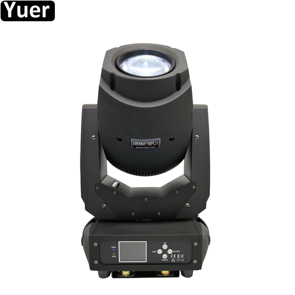 New Stage Lighting Equipments 200w Beam Spot 2in1 Led Moving Head Lights Lcd Display With 6 Rotating Gobos And 8 Static Gobos