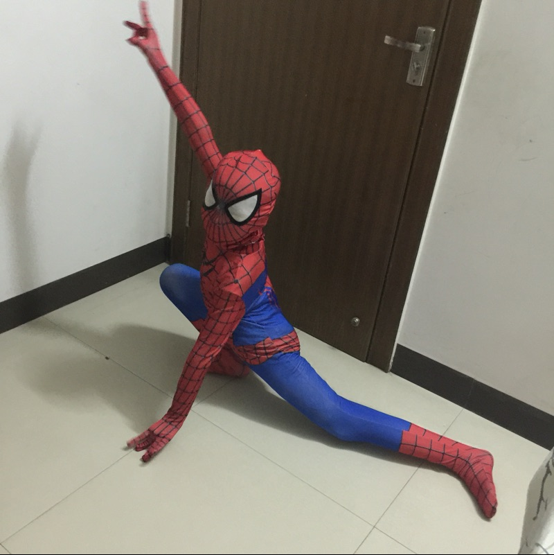 The Amazing Spider Man Cosplay Costume Children Superhero Spiderman Spandex Fullbody Outfits Halloween Costumes for Kids-in Boys Costumes from Novelty ... & The Amazing Spider Man Cosplay Costume Children Superhero Spiderman ...