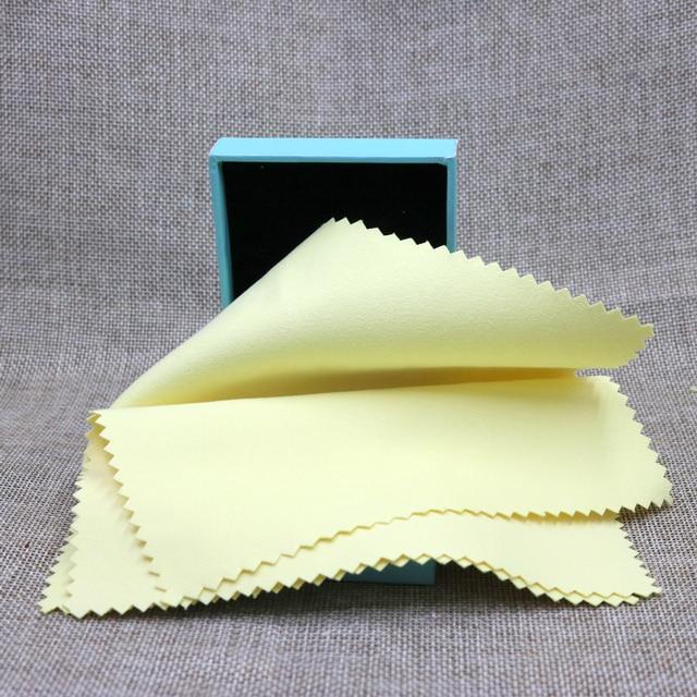 447cb5f01a0d Envío gratis! unids! 5 piezas de gamuza de limpieza de joyería