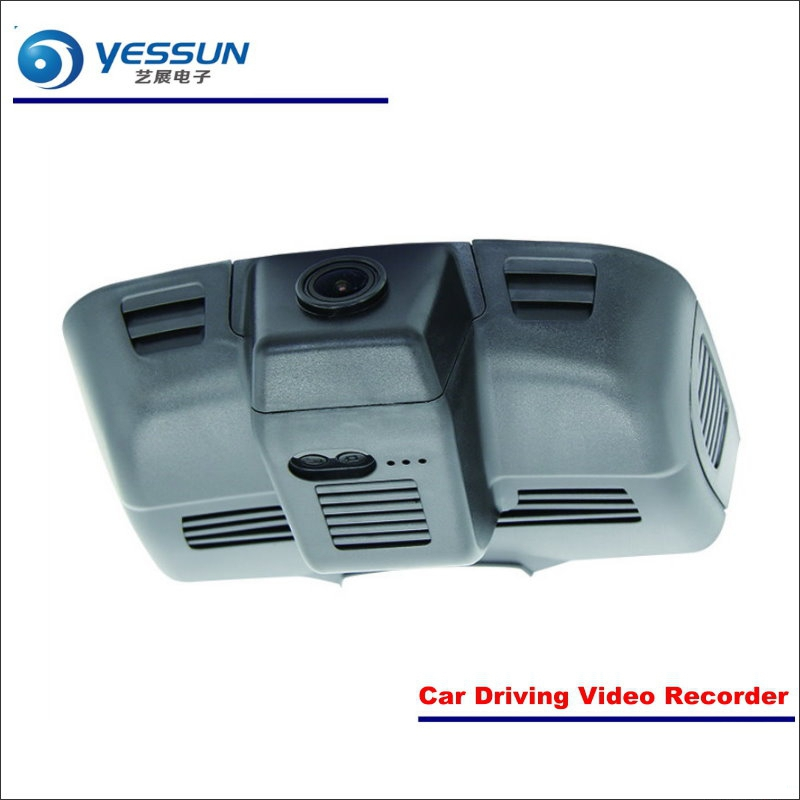YESSUN Car DVR Driving Video Recorder For Mercedes Benz E Class W213 2015~2017 Front Camera Black Box Dash Cam - Head Up Plug yessun car dvr driving video recorder for buick enclave front camera black box dash cam head up plug 1080p wifi phone app