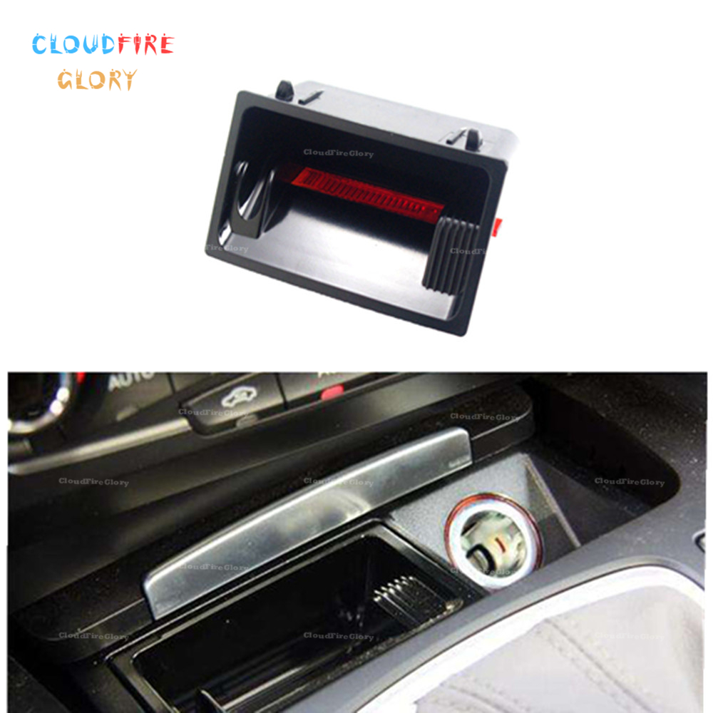 CloudFireGlory 8K0857989 8K0 857 989 Front Ash Tray Insert Cigarette Lighter For Audi A4 A5 Q5 2009-2015 RS4 2013-2015 RS5