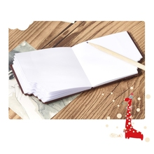 Bitten Chocolate Notebook High Quality Paper Memo Pad School Office Stationery Cartoon Notebook 100% high quality travelers notebook fiiler paper 3 types page paper 3 size page paper for travel notebook change school supplie