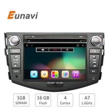 Quad Core 1024*600 HD de Pantalla Android 6.0 2Din Coche DVD para Toyota Rav 4 RAV4 Audio Video Stereo Radio Navegación GPS RDS 3G Wifi