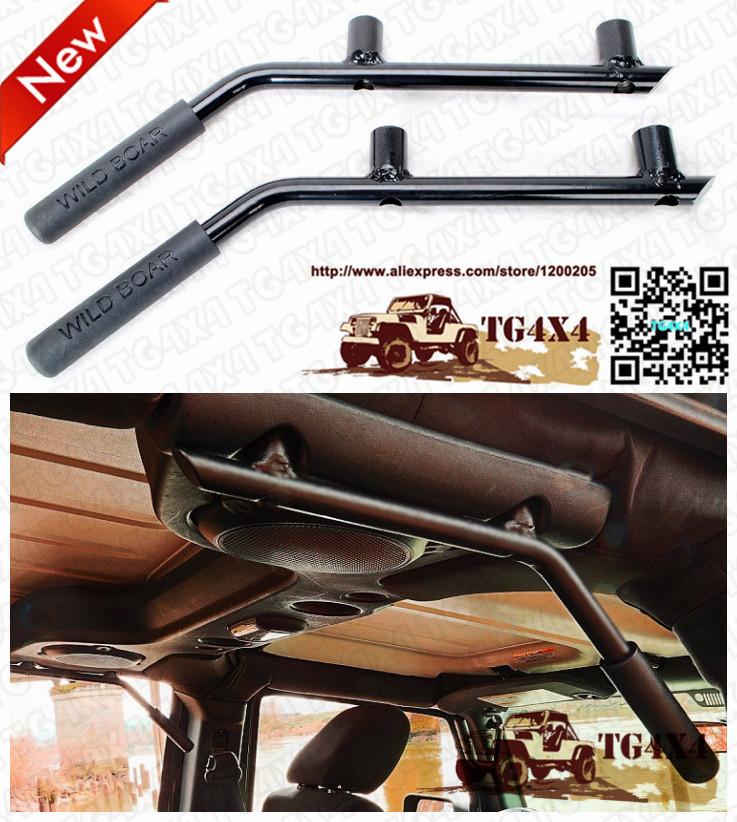 NEW OEM Steel Wild Bar Back Cab Roof Grab Handles ...