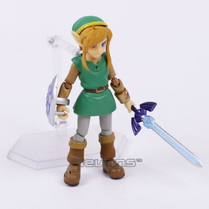 Image 4 - Link A Link Between Worlds Figma EX 032 / Figma 284  PVC Action Figure Collectible Model Toy 2 Types