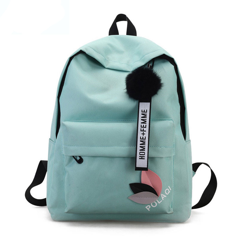 Women's Canvas Backpack School Teenager Girls Rucksack Design Travel Laptop Pouch 2019