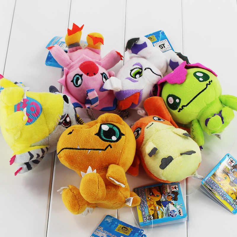 ホット 6 種類デジモンぬいぐるみ Patamon Agumon 八神太一ペンダントキーチェーン玩具素敵なギフト