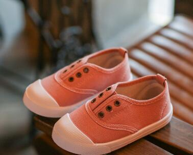 cb9fbcca648b Dropwow Bekamille Girls Boys Fashion Canvas Sneakers Children Shoes ...