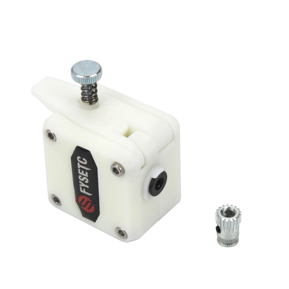 BIlinli Drivegear Kit Dual Drive Gear Extruder Kit Clonato Btech Upgrade per estrusore per Prusa i3 Stampante 3D Gear Mini Bowden Extruder