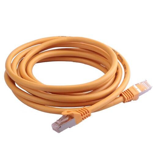 Trumsoon Cat7 Lan Câble UTP RJ45 Plat Ligne Ethernet Patch Cordon Câble Réseau pour le Routeur Commutateur portable ADSL