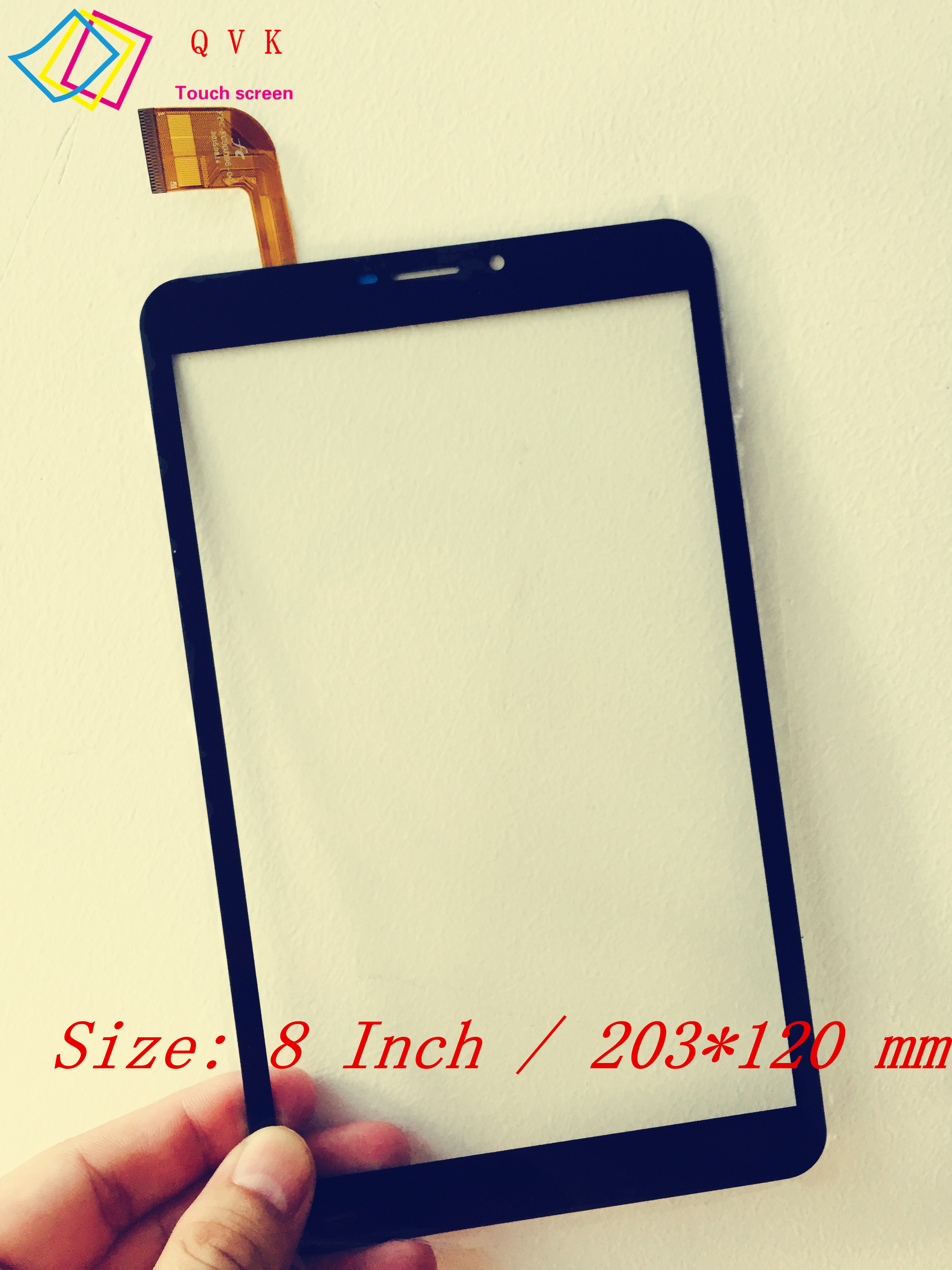 Black 8 Inch for Vonino Pluri Q8 tablet pc capacitive touch screen glass digitizer panel Free shipping original new 8 inch ntp080cm112104 capacitive touch screen digitizer panel for tablet pc touch screen panels free shipping