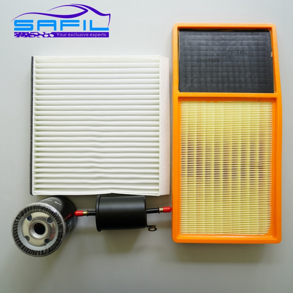 Set Filters For Changan Cs35 Four 1109013 W01 8100103 2004 Volvo S60 Fuel Filter Air Cabin Condition Oil 2011 2016