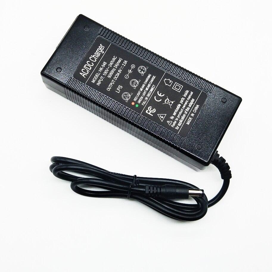 HK Liitokala 54.6V2A chargeur 54.6 v 2A vélo électrique au lithium batterie chargeur pour 48 V batterie au lithium pack 54.6V2A chargeur