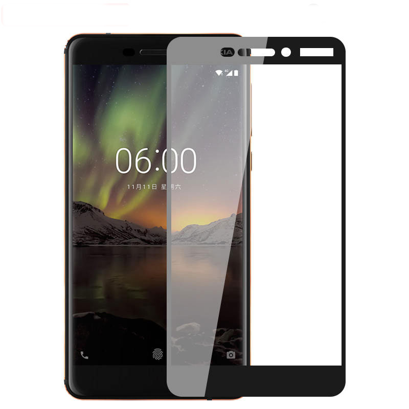 For Nokia 6 2018 Best 100% Genuine Tempered Glass Guard Screen Protection Cell Phones & Accessories Cases, Covers & Skins