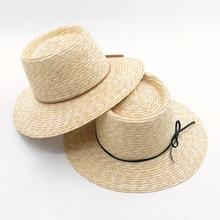 29c3f78b48a7d 01901 HH7096 summer natural handmade straw paper leisure ribbon fedoras cap  MEN women PANAMA hat. US  13.80 More details. Women Men Wool Fedora ...
