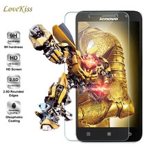 Lovekiss 9H Tempered Glass For Lenovo A5000 A7000 A6010 K5 K6 Note Prower A Plus P2 Vibe P1 P1M C C2 Screen Protector Film