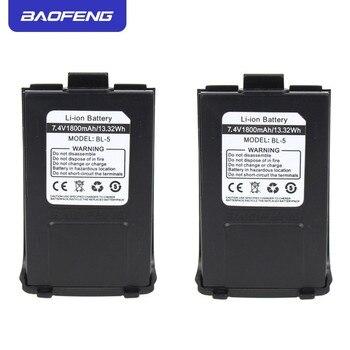 Оригинальный аккумулятор Baofeng GT-3, 1800 мАч, 7,4 В, литий-ионный аккумулятор для двухсторонней радиосвязи Baofeng GT-3 GT-3TP GT3 GT3TP & GT-3 Mark-II Mark-III