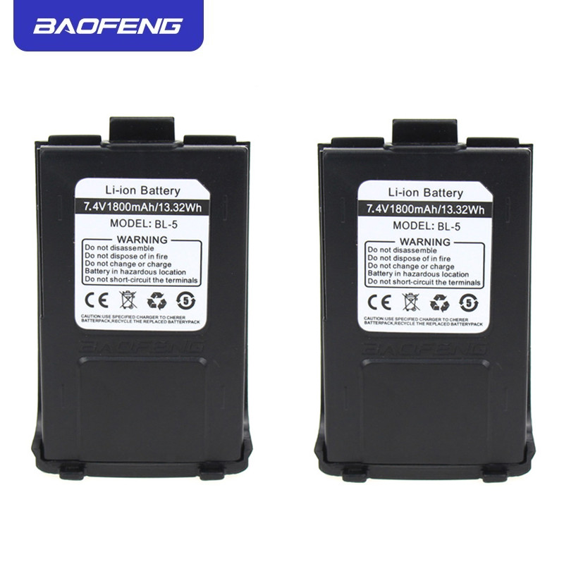 Original Baofeng GT-3 Battery 1800mAh 7.4V Li-ion Battery For Baofeng GT-3 GT-3TP GT3 GT3TP &GT-3 Mark-II Mark-III Two Way Radio