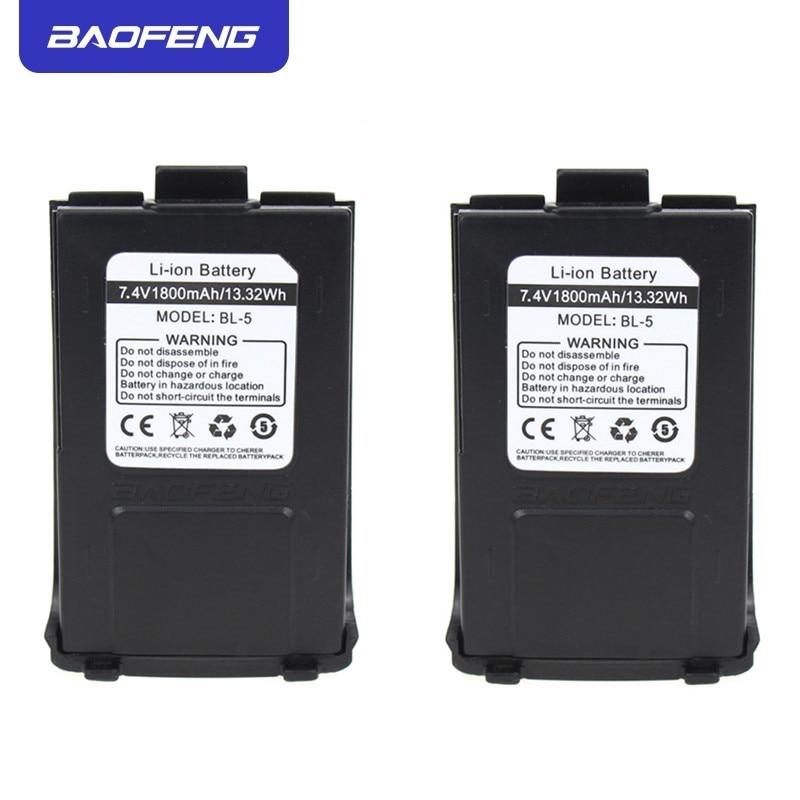 Original Baofeng GT-3 Battery 1800mAh 7.4V Li-ion For GT-3TP GT3 GT3TP &GT-3 Mark-II Mark-III Two Way Radio