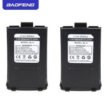 Original Baofeng GT-3 Battery 1800mAh 7.4V Li-ion For GT-3TP GT3 GT3TP &GT-3 Mark-II Mark-III Two Way Radio
