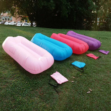 2017 Portable air sofa bag, inflatable sofa bed, otaku goddess, beach sleeping bag, lazy European and American Outdoor artifact