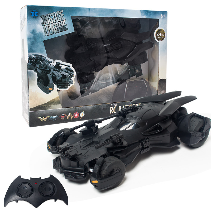 Batman RC Car 1:18 Kids Toy Gifts Recargable 2.4 GHz Control remoto - Juguetes con control remoto - foto 5
