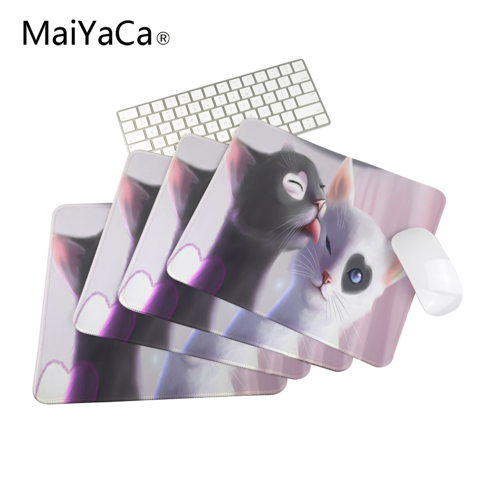Hot Selling Customized Animal Cute Cat High Quality Computer and Laptop Mouse Pad 18*22cm 20*25cm 25*29cm
