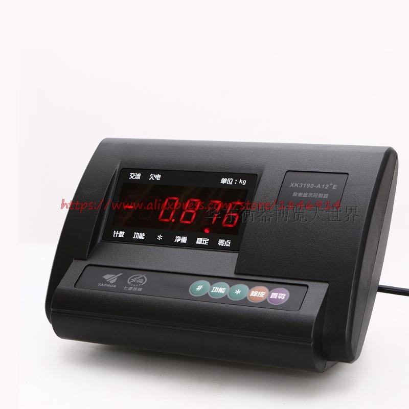 Loadometer Weighing Display Instrument Xk3190 A12+E Electronic Platform Scale Weighing Meter Head
