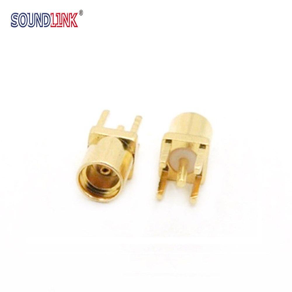 2PCS MMCX Female Socket Jack Connector Earphone Plugs For IEM In-ear Monitors