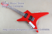 חנות מותאמת אישית גיטרה 6 מחרוזת הסינית & 4 מיתרים גיטרה בס בגוף אחד & צוואר כתמונה
