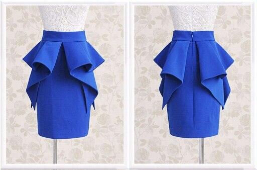 448131b5b9 Women Summer Style Plus Size 3XS-8XL Bodycon High Waist Peplum Pencil Skirt  Ladies Vintage Retro Fashion Midi Skirts Saias