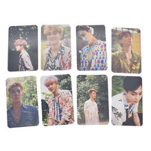 8pcs/set EXO KPOP Photocard THE WAR KOKOBOP Album Cards Chanyeol Chen Ximin Sehun Private Photo Lomo card Set Gifts Collection(China)